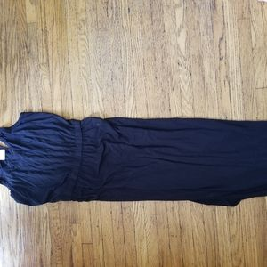 NWT long black summer dress